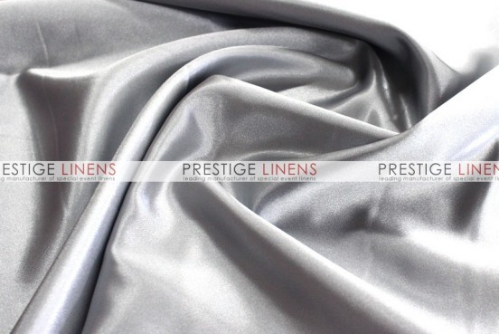 Bridal Satin Table Linen - 1126 Silver