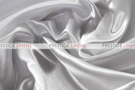 Bridal Satin Table Linen - 126 White