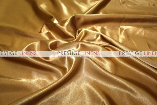 Bridal Satin Table Linen - 229 Dk Gold