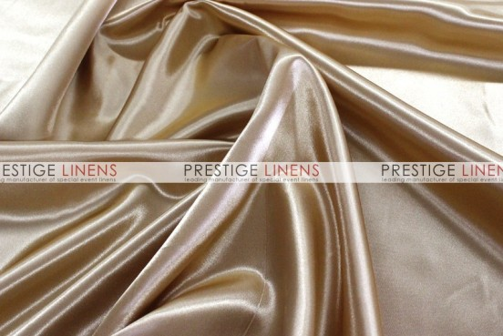 Bridal Satin Table Linen - 326 Khaki