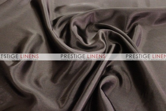 Bridal Satin Table Linen - 348 Chocolate