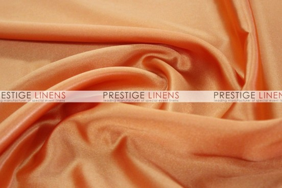Bridal Satin Table Linen - 431 Orange