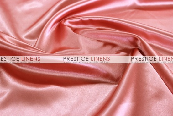 Bridal Satin Table Linen - 432 Coral