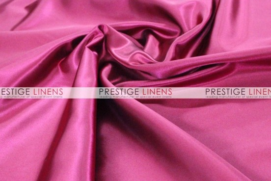 Bridal Satin Table Linen - 529 Fuchsia