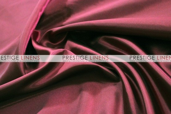 Bridal Satin Table Linen - 628 Burgundy