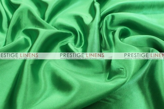 Bridal Satin Table Linen - 755 Kelly Green