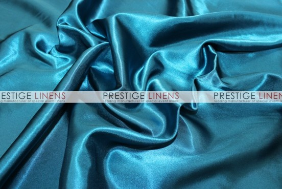 Bridal Satin Table Linen - 768 Pucci Teal