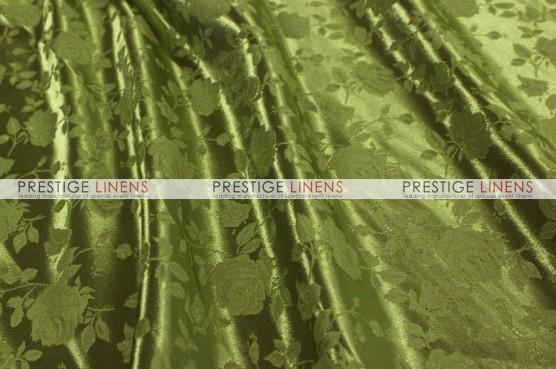Brocade Satin Table Linen - Bamboo