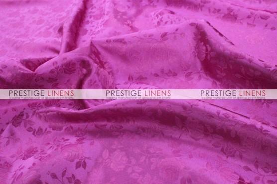Brocade Satin Table Linen - Fuchsia