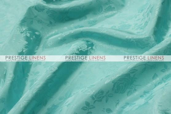 Brocade Satin Table Linen - Jade