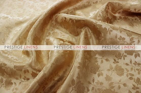 Brocade Satin Table Linen - Khaki