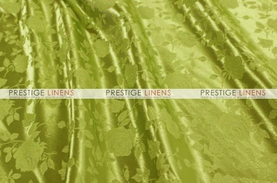 Brocade Satin Table Linen - Kiwi