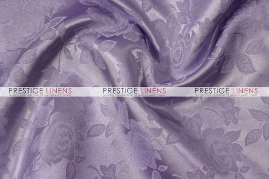 Brocade Satin Table Linen - Lavender
