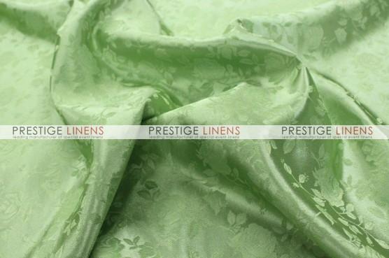 Brocade Satin Table Linen - Sage