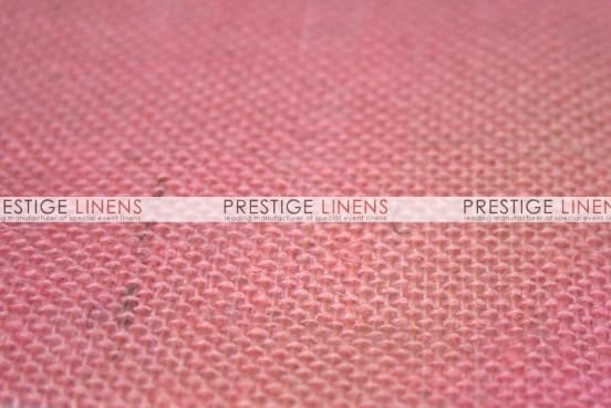 Burlap Table Linen - Pink