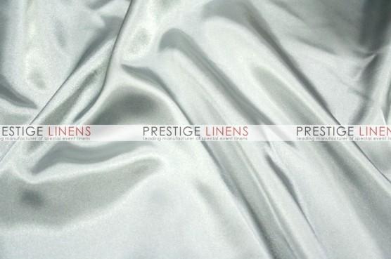 Charmeuse Satin Table Linen - 1126 Silver