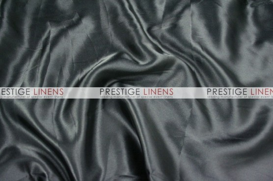 Charmeuse Satin Table Linen - 1127 Black