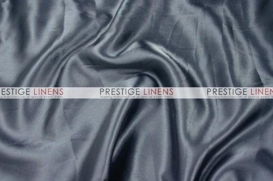 Charmeuse Satin Table Linen - 1139 Charcoal