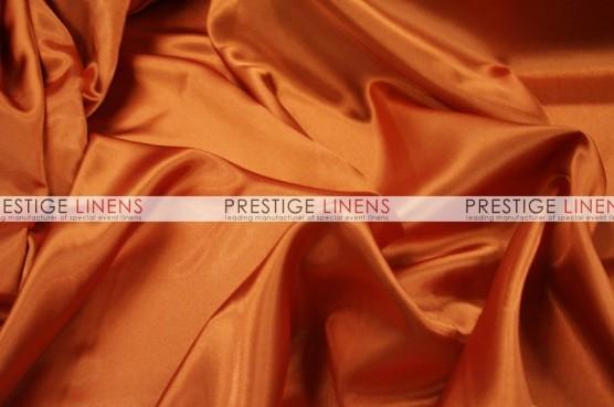 Charmeuse Satin Table Linen - 447 Dk Orange
