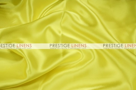 Charmeuse Satin Table Linen - 457 Pucci Yellow