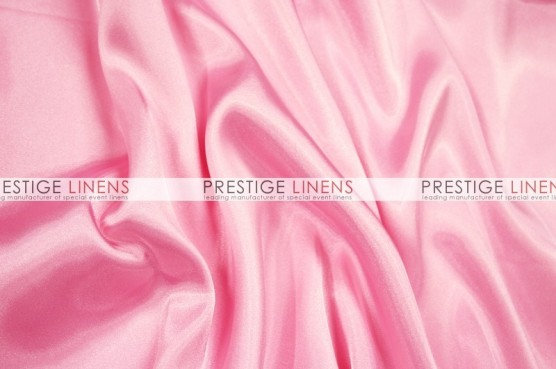 Charmeuse Satin Table Linen - 539 Candy Pink