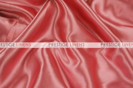 Charmeuse Satin Table Linen - 560 Dolce Pink