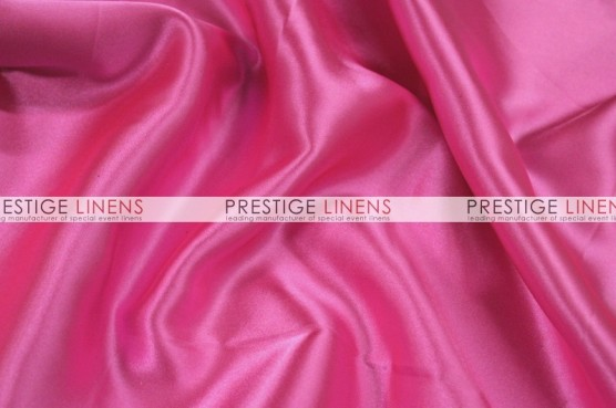 Charmeuse Satin Table Linen - 566 Pink Panther