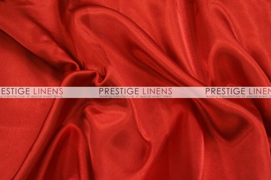 Charmeuse Satin Table Linen - 626 Red