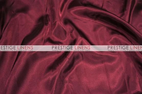 Charmeuse Satin Table Linen - 628 Burgundy