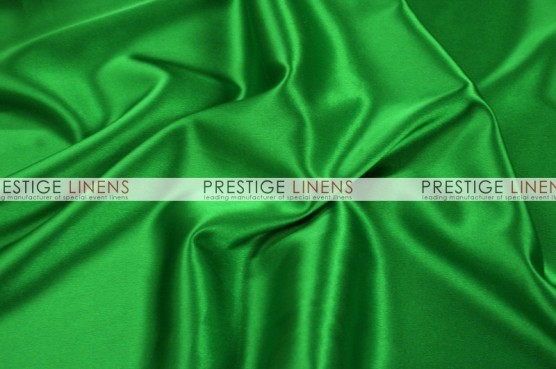 Charmeuse Satin Table Linen - 727 Flag Green