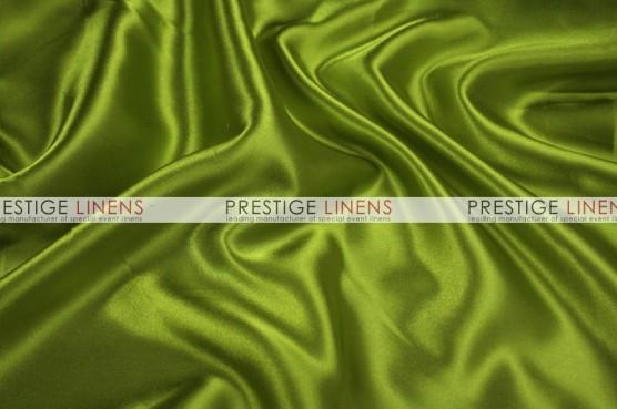 Charmeuse Satin Table Linen - 749 Dk Lime