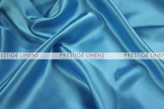 Charmeuse Satin Table Linen - 932 Turquoise