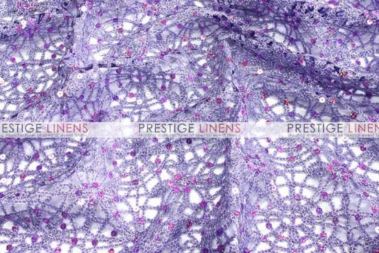 Chemical Lace Table Linen - Lavender