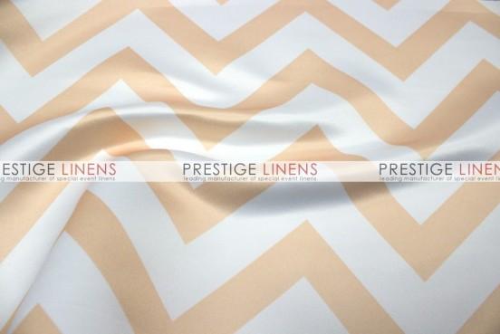 Chevron Print Lamour Table Linen - Khaki