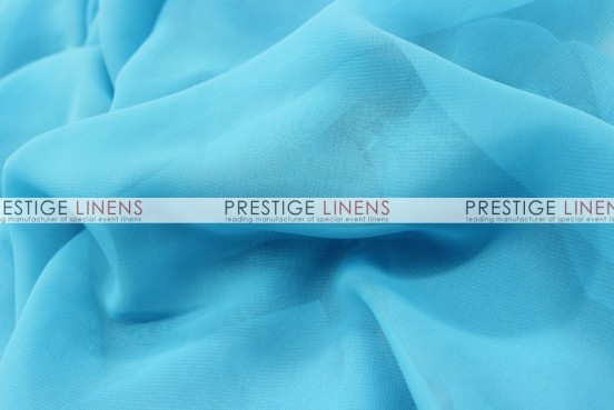 Chiffon Table Linen - Aqua