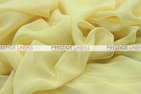 Chiffon Table Linen - Banana