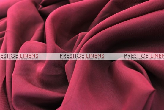 Chiffon Table Linen - Burgundy