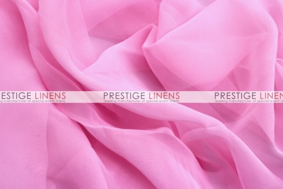 Chiffon Table Linen - Candy Pink