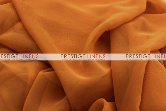 Chiffon Table Linen - Cinnamon