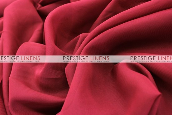 Chiffon Table Linen - Cranberry