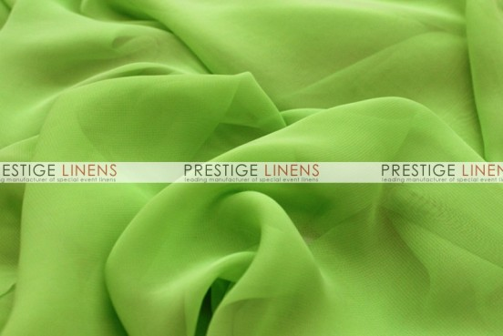 Chiffon Table Linen - Lime