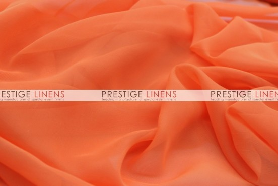 Chiffon Table Linen - Orange