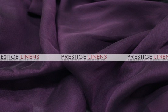 Chiffon Table Linen - Plum