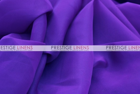 Chiffon Table Linen - Purple