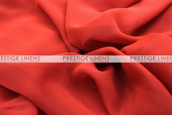 Chiffon Table Linen - Red