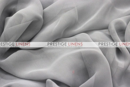 Chiffon Table Linen - Silver