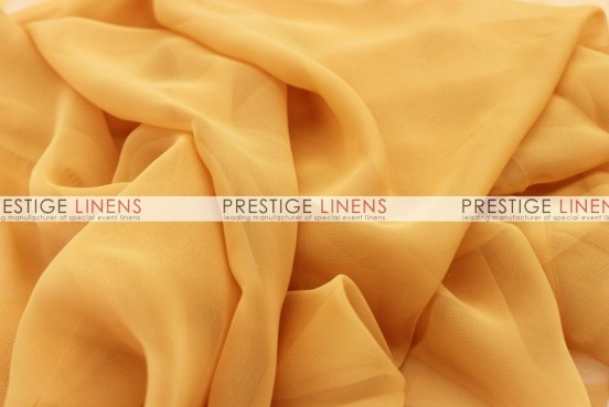 Chiffon Table Linen - Sungold