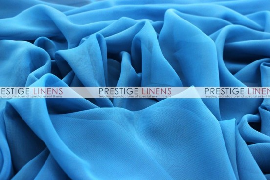 Chiffon Table Linen - Turquoise