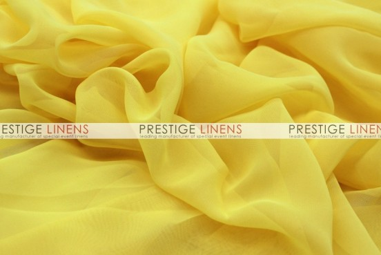 Chiffon Table Linen - Yellow