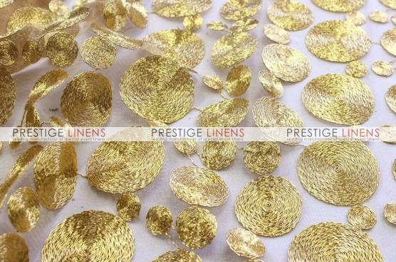 Coins Table Linen - Gold